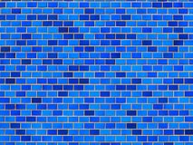 Shades of vintage ceramic tiles wall. royalty free stock photo