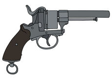 Classic revolver Royalty Free Stock Images