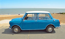 Classic Riley Mini Motor car Royalty Free Stock Images