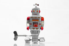 Classic robot toys Stock Photo