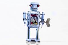 Classic robot toys. Retro Robot toys children old Royalty Free Stock Image
