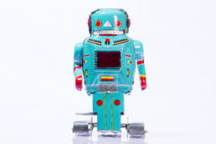 Classic robot toys. Retro Robot toys children old Stock Photo