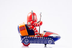 Classic robot toys Royalty Free Stock Photo