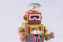 Classic robot toys Stock Photos