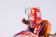 Classic robot toys Stock Images