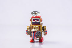 Classic robot toys. Retro Robot toys children old Stock Photos