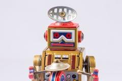 Classic robot toys. Retro Robot toys children old Stock Photo