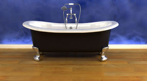 Classic roll top bath Stock Photo