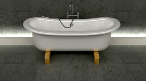 Classic roll top bath Stock Photos