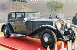The Classic Rolls Royce Phantom III vintage saloon Stock Photography