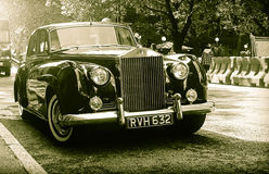 Classic rolls royce Stock Images