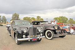 Classic Rolls Royces Stock Images