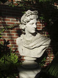 Classic roman sculpture. Statue of Roman emperor Royalty Free Stock Photos