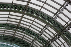 Classic roof. Interior at classic mall Stock Image