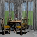 Classic room interior Royalty Free Stock Photo