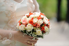 Classic Rose Bouquet Stock Photos