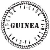 Impression made in Guinea Stock Photography