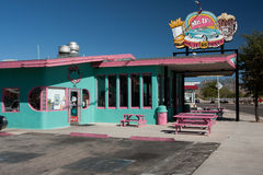 Classic route 66 diner Royalty Free Stock Image
