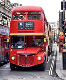 Classic routemaster double decker bus Stock Image