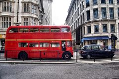 Classic routemaster double decker bus Royalty Free Stock Photography