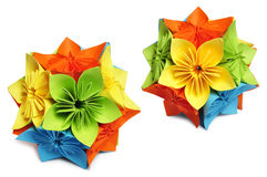 Classic Royal kusudama Royalty Free Stock Photo