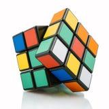 Classic Rubik`s cube Royalty Free Stock Image