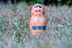 Classic Russian Matrioska Doll Royalty Free Stock Photo