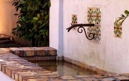 Classic rustic Italian fountain Royalty Free Stock Photo