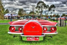 Classic 1960s American built Ford Thunderbird Royalty Free Stock Photography