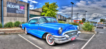 Classic 1950s American car Royalty Free Stock Photo