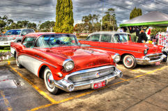 Classic 1950s American car Stock Photography