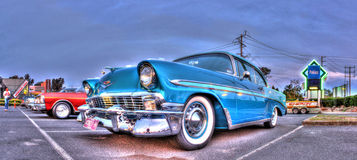 Classic 1950s American car Royalty Free Stock Images