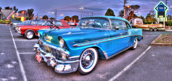 Classic 1950s American car Royalty Free Stock Image
