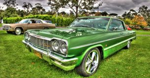 Classic 1960s American Chevy Impala Royalty Free Stock Photography