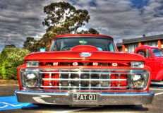 Classic 1960s American Ford pickup truck royalty free stock photography