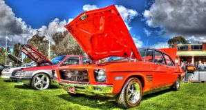 Classic 1970s Australian built Holden Monaro Stock Photos