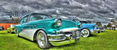 Classic 1950s American Buick Royalty Free Stock Image