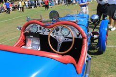 Classic 1940s british racing car Stock Image
