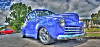 Classic 1940s Chevy Coupe Stock Images