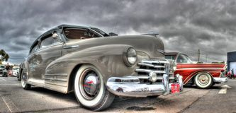 Classic 1940s Chevy Fleetline Stock Photos