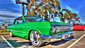 Classic 1960s Chevy Impala Stock Photography