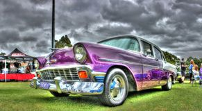 Classic 1950S Chevy Royalty Free Stock Photo