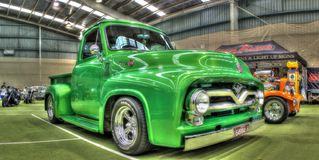Classic 1950s Ford F100 pickup truck Royalty Free Stock Images