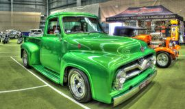 Classic 1950s Ford F100 pickup truck Stock Image