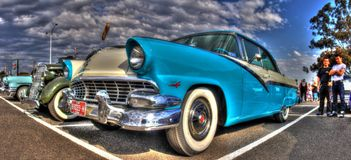 Classic 1950s Ford Fairlane Royalty Free Stock Photography
