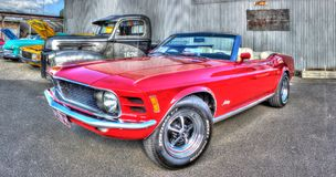 Classic 1970s Ford Mustang Stock Image