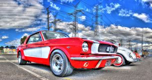 Classic 1960s Ford Mustang Stock Photo