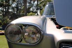 Classic 1950s twin headlamps Stock Image