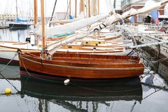 Classic sailboat royalty free stock images