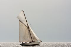 Classic sailing boat Stock Photos